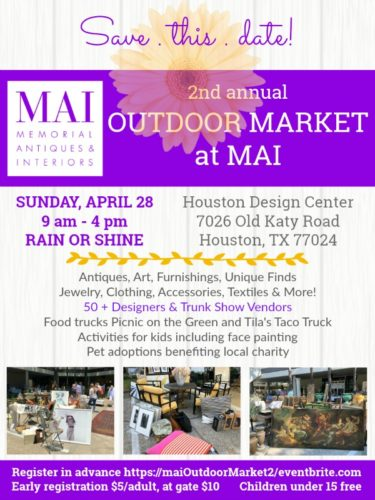 MAI outdoor market save this date