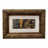 s nedra hawks abstract collage print framed
